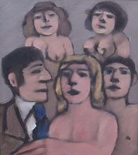 Antonio LAGO RIVERA - Peinture - personajes