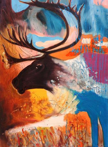 Peny MANAVI - Painting - Animal Kingdom 5