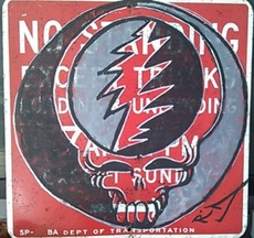 RD 357 - Peinture - Steal Your Face NYC NO STANDING SIGN