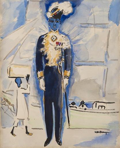 Kees VAN DONGEN - Drawing-Watercolor - Draeger, un merveilleux Ambassadeur