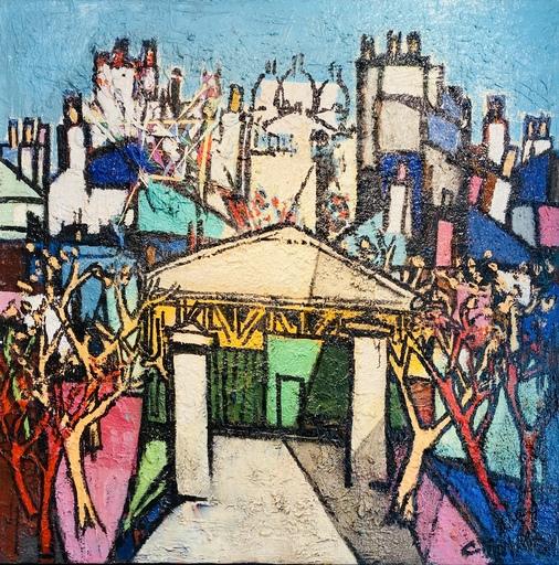 Claude VENARD - 绘画 - Le Sacré-Cœur Paris