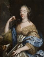 Louis Ferdinand I ELLE - Painting - Portrait de Marguerite Hessein, dame de La Sablière