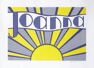 Roy LICHTENSTEIN - Print-Multiple - Joanna (C.III.24)