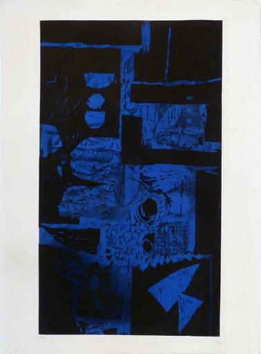 Antoni CLAVÉ - Print-Multiple - Bleu Noir