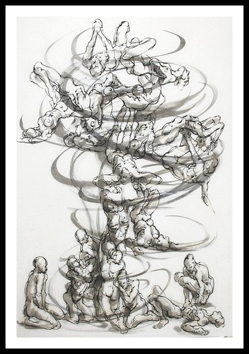Marie TAKLANTI - Dibujo Acuarela - Vortex 3