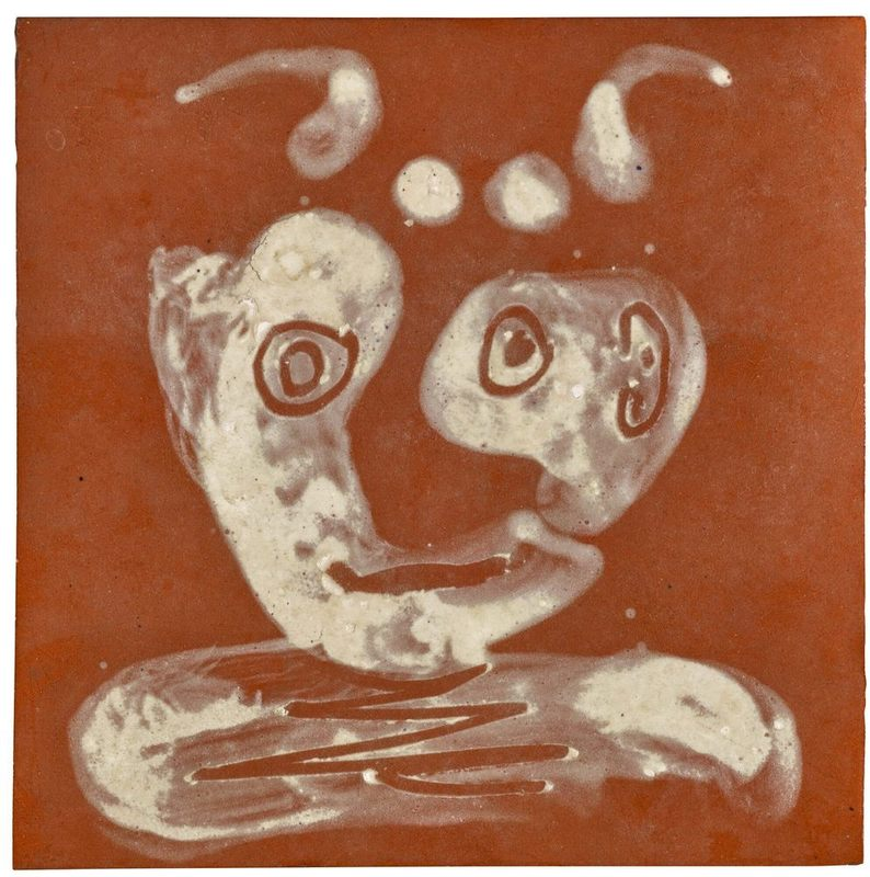 Pablo PICASSO - Ceramic - Tête de faune