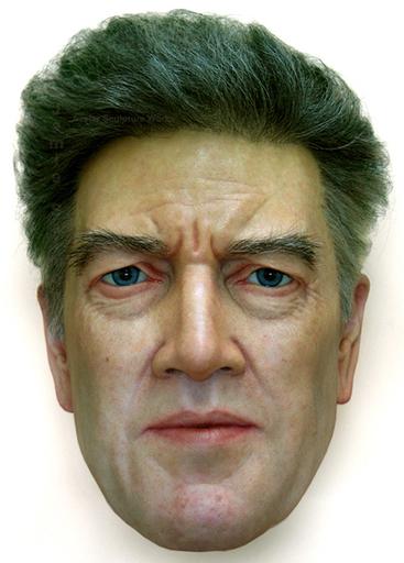 Jamie SALMON - 雕塑 - The director (David Lynch)