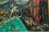 Manit OZERE - Painting - Portrait surréaliste