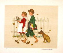Norman Perceval ROCKWELL - Print-Multiple - *Automn