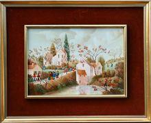 Raphaël TOUSSAINT - Painting - Paysage Vendéen