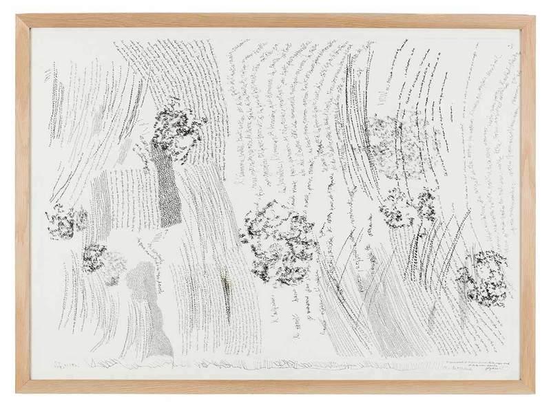 Jean-Luc PARANT - Disegno Acquarello - 10954 boules les yeux ouverts et les yeux fermés...
