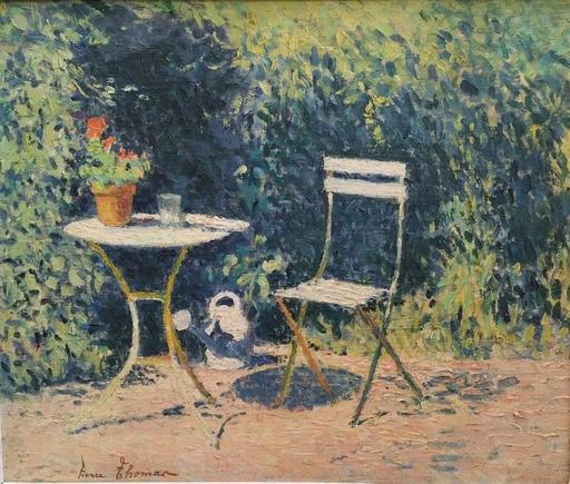 Pierre THOMAS - Painting - Dans le jardin