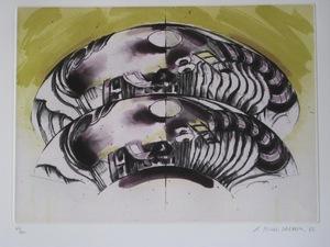 Gérard TITUS-CARMEL - Druckgrafik-Multiple - GRAVURE 82 SIGNÉE AU CRAYON NUM/100 HANDSIGNED NUMB ETCHING