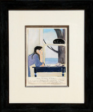 Will R. BARNET - Drawing-Watercolor - Spirit of Youth