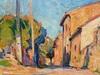 Marcel ARNAUD - Pintura - Rue à Eguilles