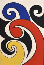 Alexander CALDER - Estampe-Multiple - The Waves | Les Vagues,