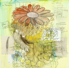 Fabrice HYBER - Pintura - La Terrienne