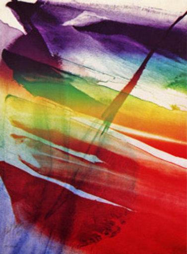 Paul JENKINS - Print-Multiple - Phenomena Franklin's Kite