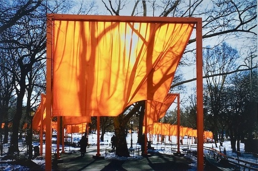 CHRISTO - Photography - Portfolio The Gates NYC, 2005