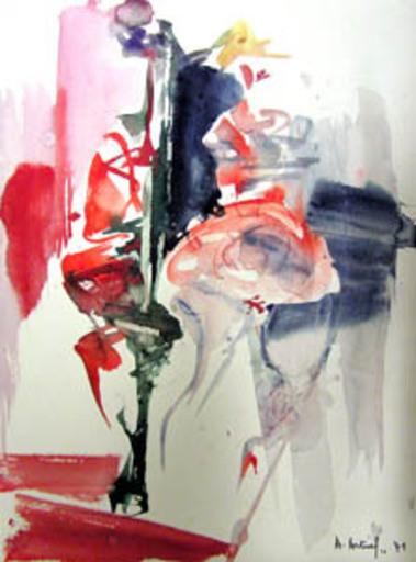 Philippe ARTIAS - Zeichnung Aquarell - Figure