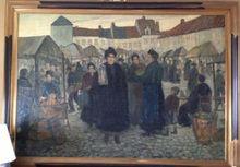 Edgard FARASYN - Pintura - Markt