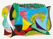 David HOCKNEY - Estampe-Multiple - Above and Beyond