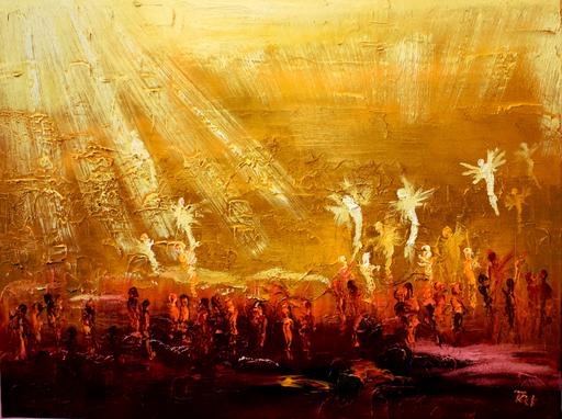 Serge Louis TUQUET - Painting - 803-Ascension