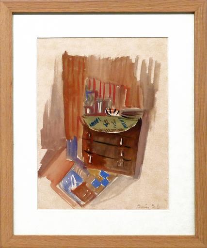 Francisco BORES - Drawing-Watercolor - Sin Título