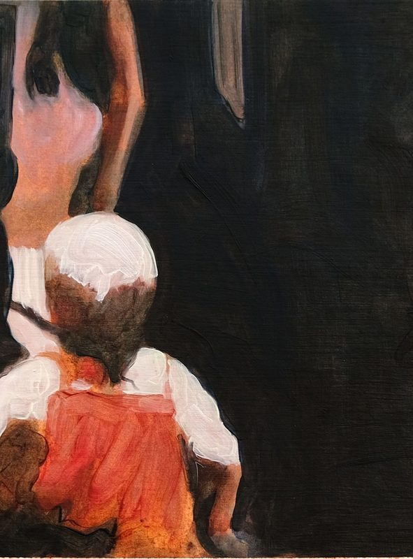 Clémence ARNOLD - Painting - « Vase VI »