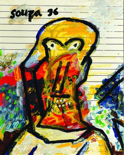 Francis Newton SOUZA - Pintura - Untitled