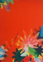 Miguel CHEVALIER - Grabado - Fleurs