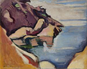 Emile Othon FRIESZ - Painting - La Baie du bec de l'aigle, Toulon