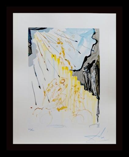 萨尔瓦多·达利 - 版画 - Divine Comedy Heaven Canto 21