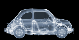 Nick VEASEY - Photo - 1969 Fiat 500, 2016 (S)