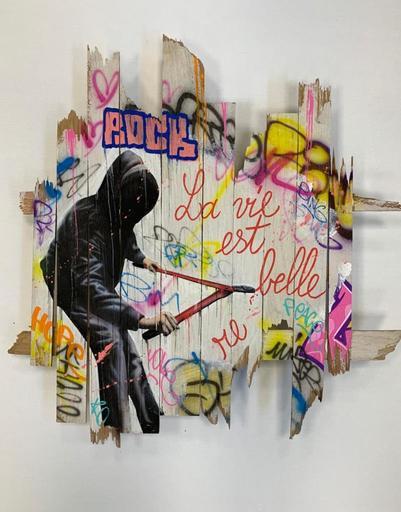 ONEMIZER - Painting - La vie est belle