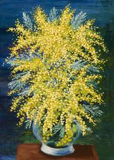 Moïse KISLING - Pintura - Petit mimosas
