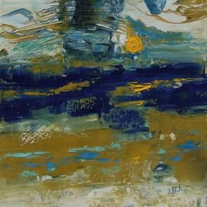 Josette DUBOST - Pittura - Horizon