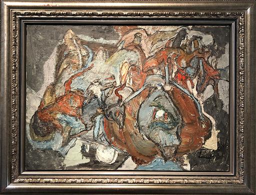 Jacques DOUCET - Pittura - Dechirures Nocturnes