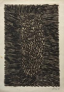Arthur Luiz PIZA - Dibujo Acuarela - Untitled