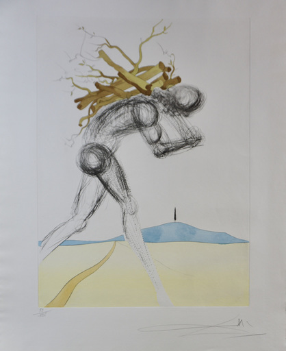 Salvador DALI - Stampa-Multiplo - 12 Tribes of Israel Issachar