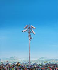 Jeff GILLETTE - Peinture - Surveillance Tower Landfill