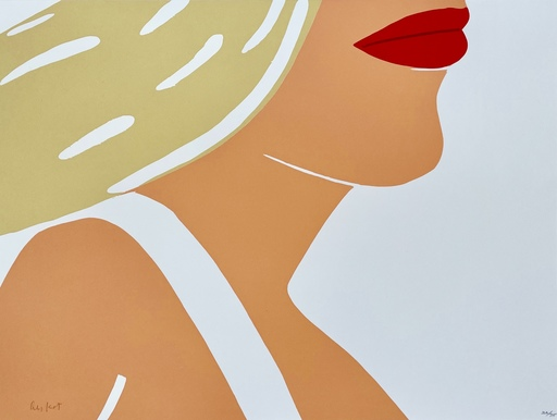 亚历克斯·卡茨 - 版画 - Coca-Cola Girl 10
