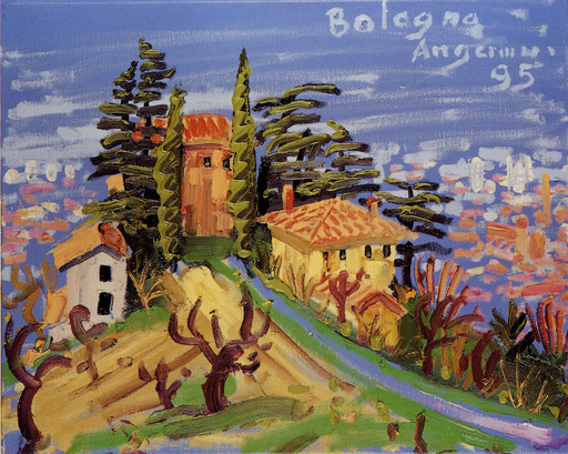 Peter ANGERMANN - Painting - BOLOGNA