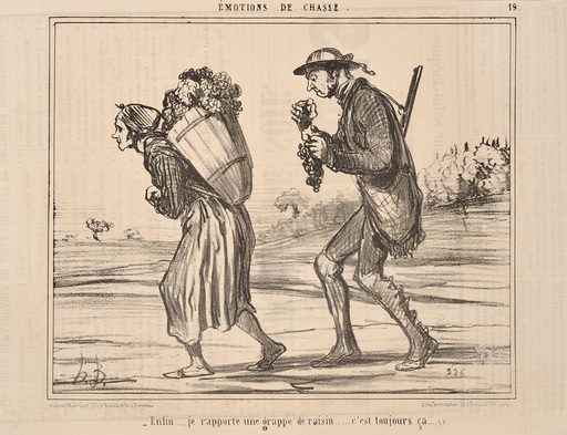 Honoré DAUMIER - Estampe-Multiple - A GROUP OF 13 CARICATURES