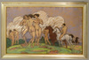 Béla KADAR - Drawing-Watercolor - Nudes and Horses