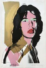 Andy WARHOL - Estampe-Multiple - Mick Jagger #143