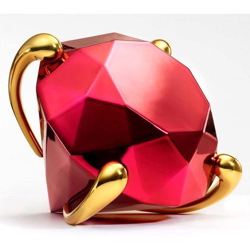 Jeff KOONS - Sculpture-Volume - Diamond (Red)