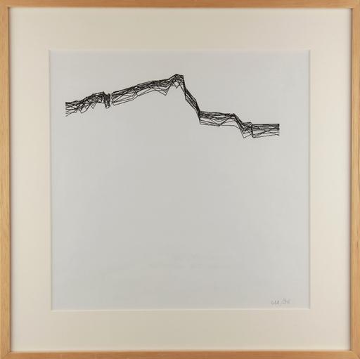 Véra MOLNAR - Disegno Acquarello - Variation Sainte Victoire