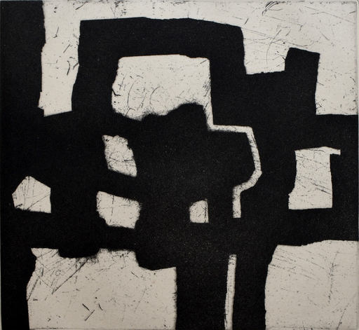 Eduardo CHILLIDA - Estampe-Multiple - Homage to Picasso | Homenaje a Picasso