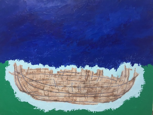 Maurice MAUBERT - Peinture - Small Boat